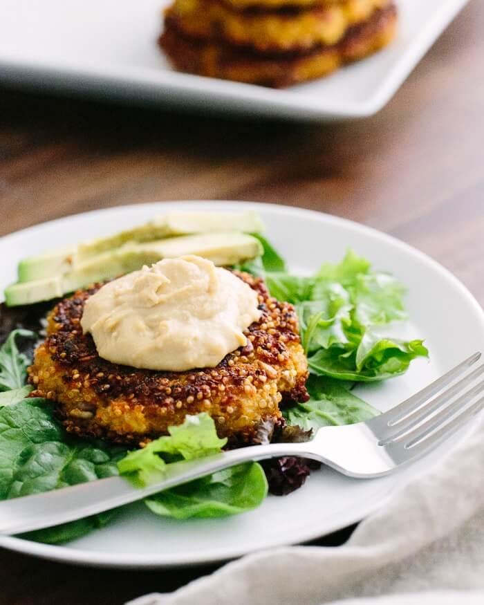 Quinoa Veggie Burgers | A Couple Cooks
