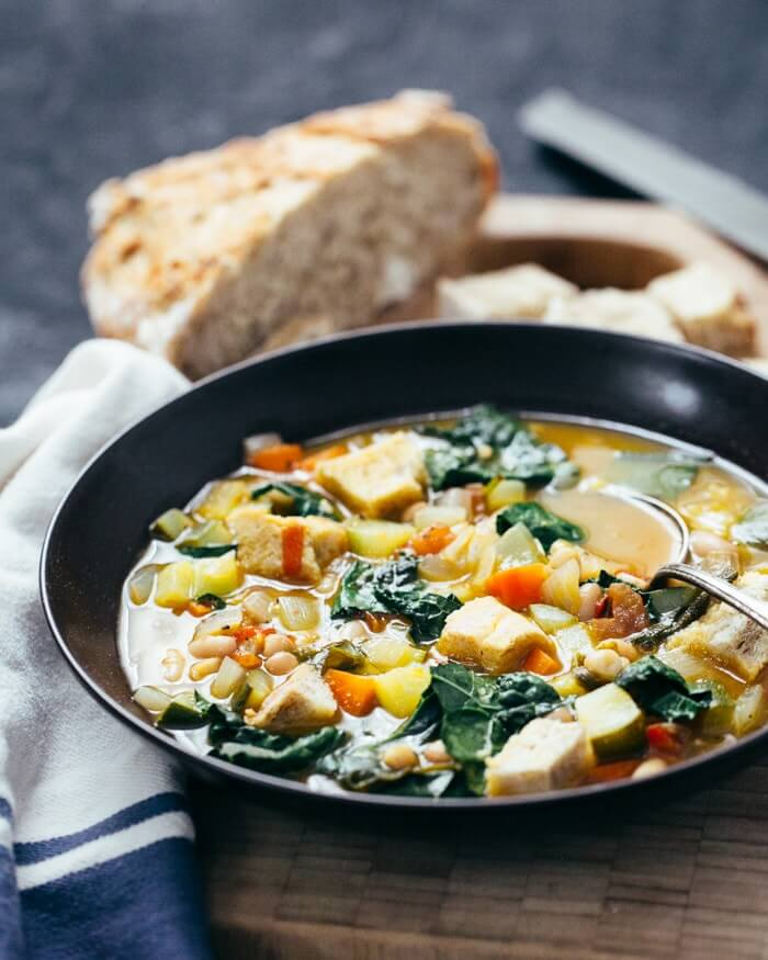 Ribollita (Tuscan Vegetable Stew) | A Couple Cooks