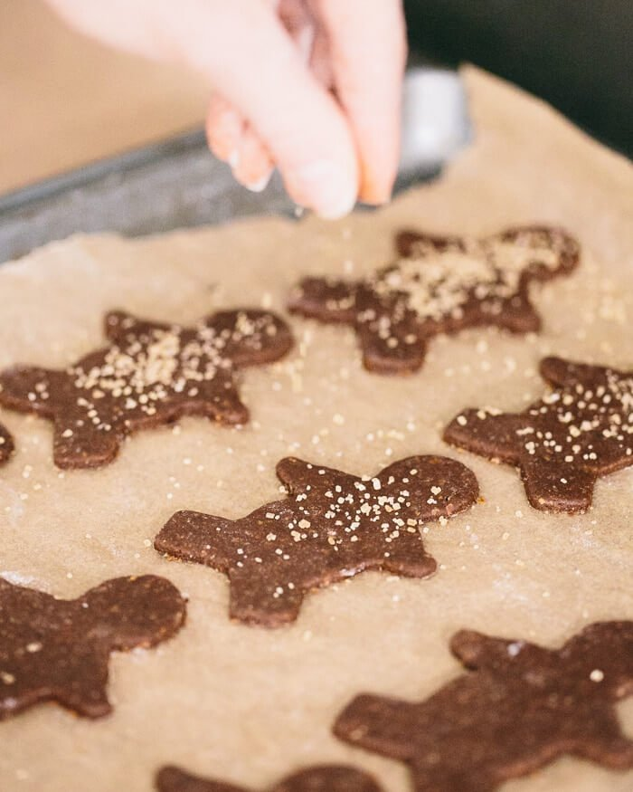 Soft Gingerbread Cookies with turbinado sugar | Gingerbread cookie recipe