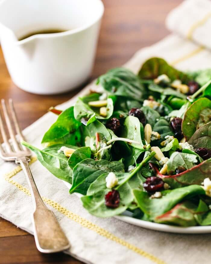 Simplest Green Salad with Balsamic Vinaigrette | A Couple Cooks