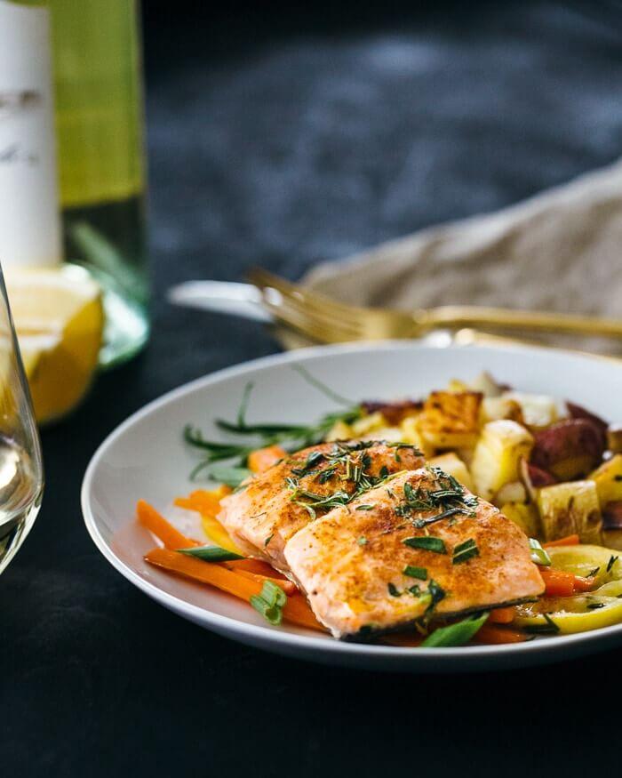 Salmon en Papillote   A Couple Cooks