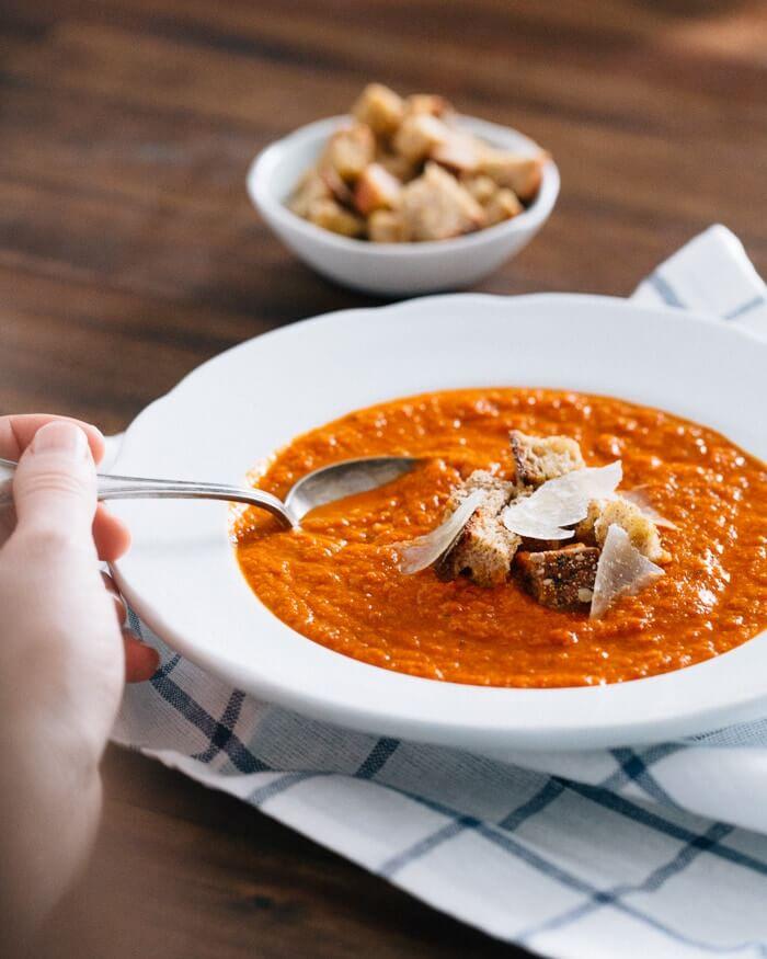 Tomato Artichoke Soup   A Couple Cooks