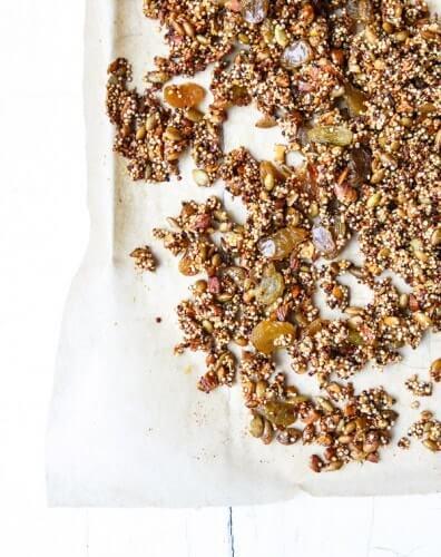 Crispy Quinoa Granola | A Couple Cooks