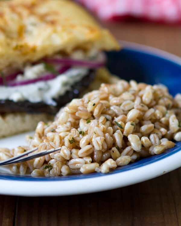 Farro with mushrooms | What is farro
