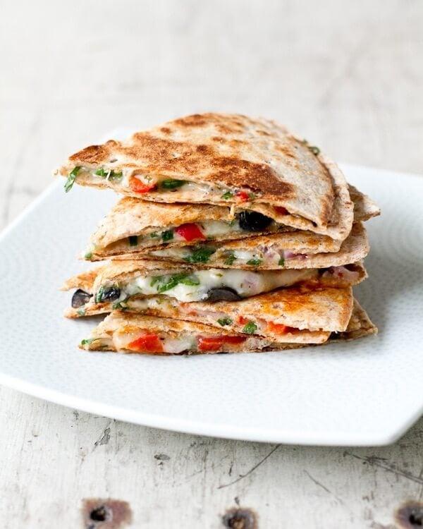 Greek quesadillas | Quesadilla recipes