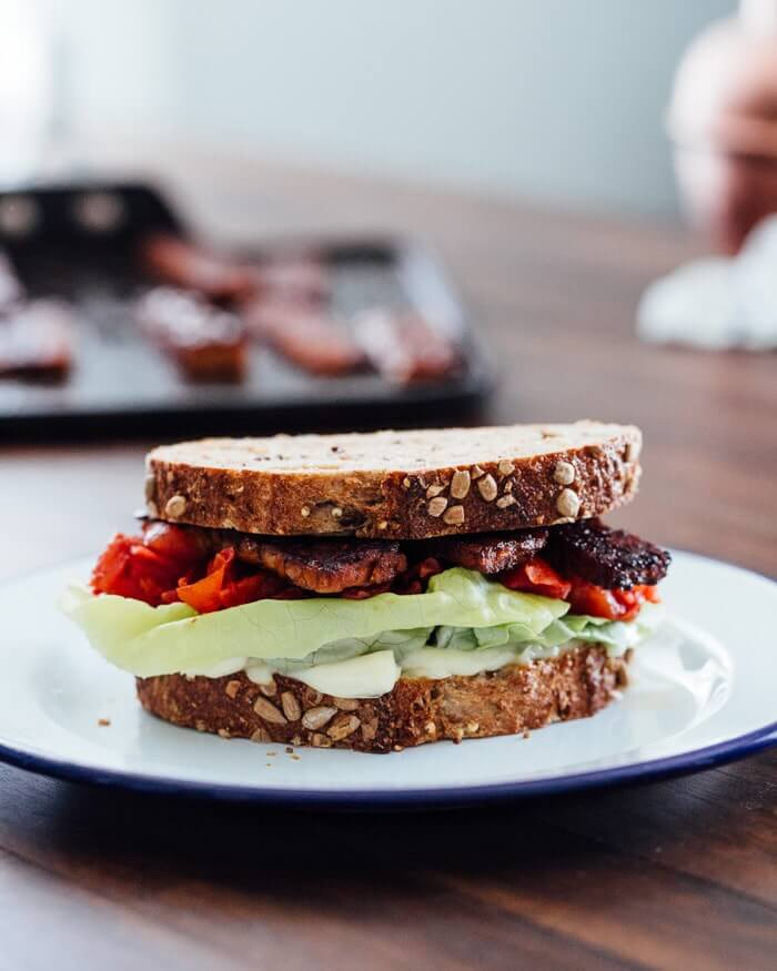 Vegetarian BLT | A Couple Cooks