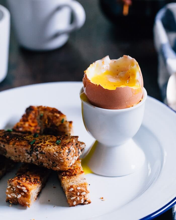 Dippy Eggs with Toast Soldiers