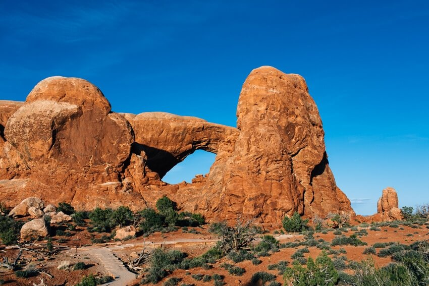 Things to Do in Arches National Park Utah | Utah Arches | North and South Windows