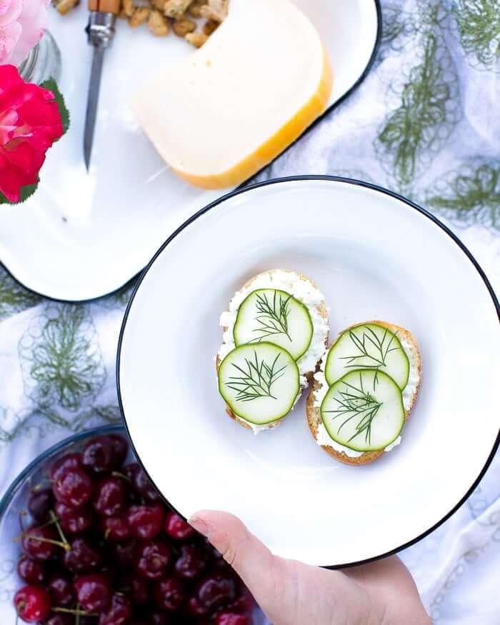 Cucumber Dill Sandwiches