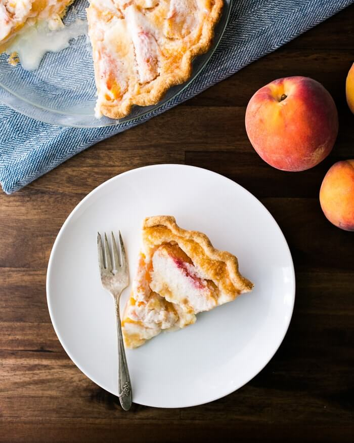 The Best Peach Pie | A Couple Cooks