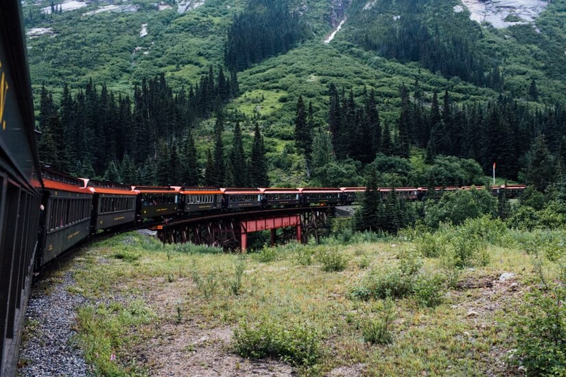 Things to do in Skagway Alaska | Train ride | Alaska | Gold rush
