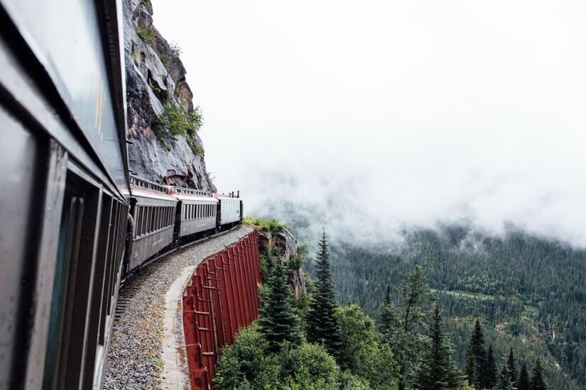 Train ride | Train in Alaska | Skagway Alaska