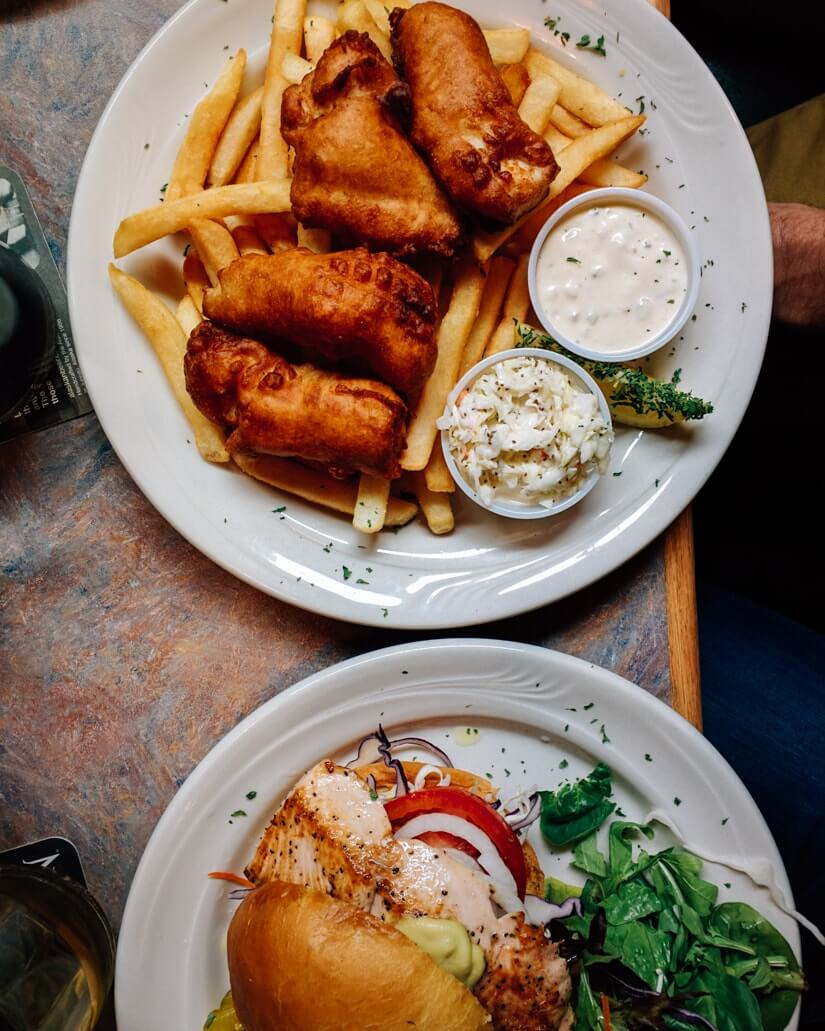 Things to do in Skagway Alaska | Fish and chips