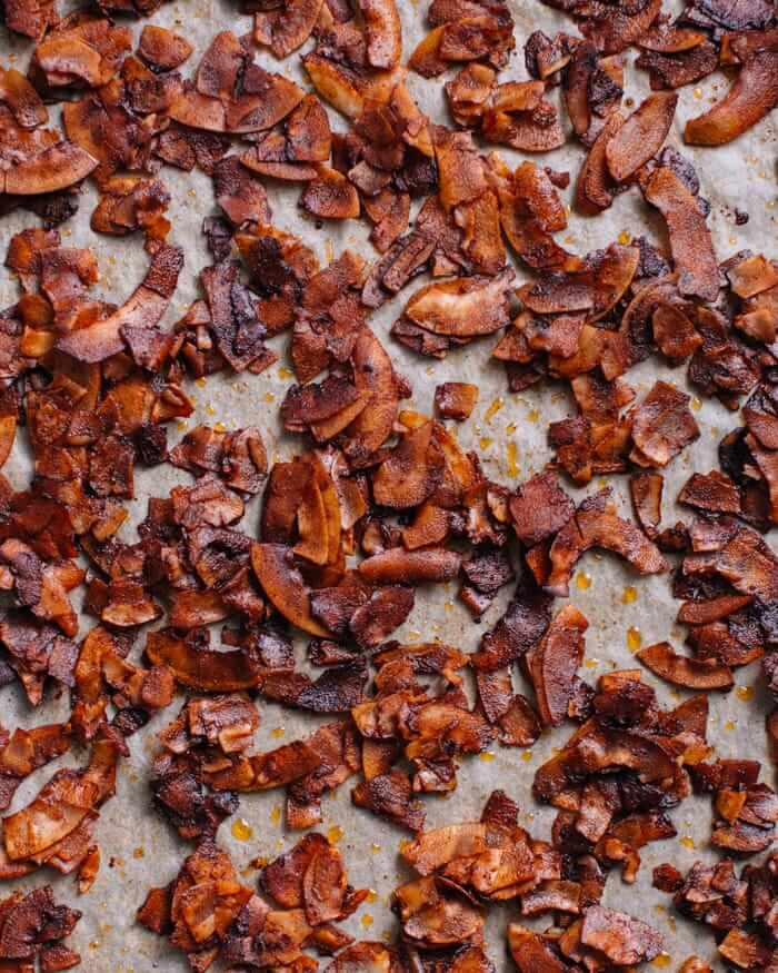 Coconut Bacon Recipe   A Couple Cooks