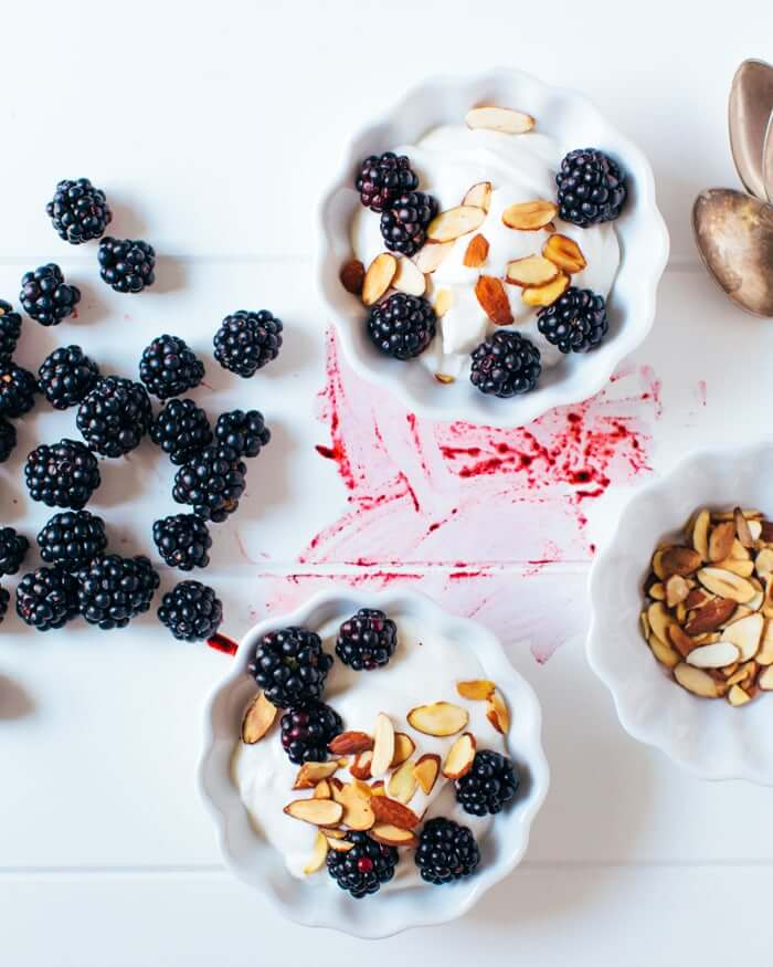 Berries with Yogurt Whipped Cream | A Couple Cooks