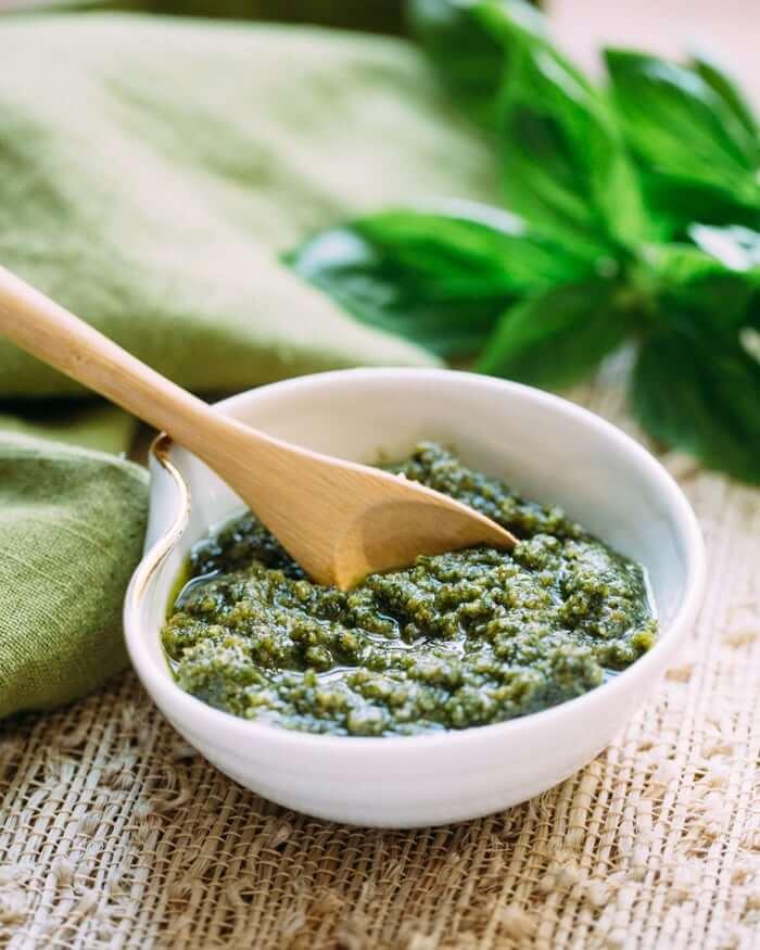 Easy Vegan Pesto