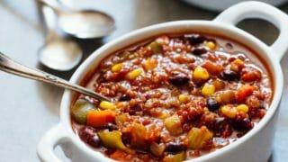 Quinoa Vegan Chili