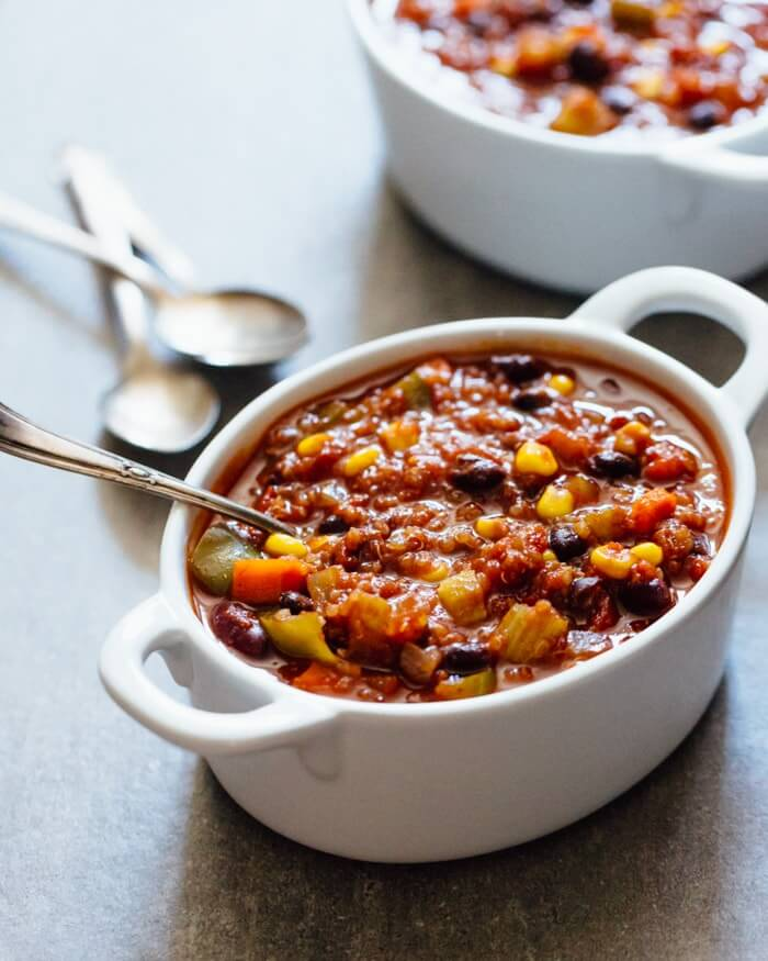 Quinoa Black Bean Chili | A Couple Cooks