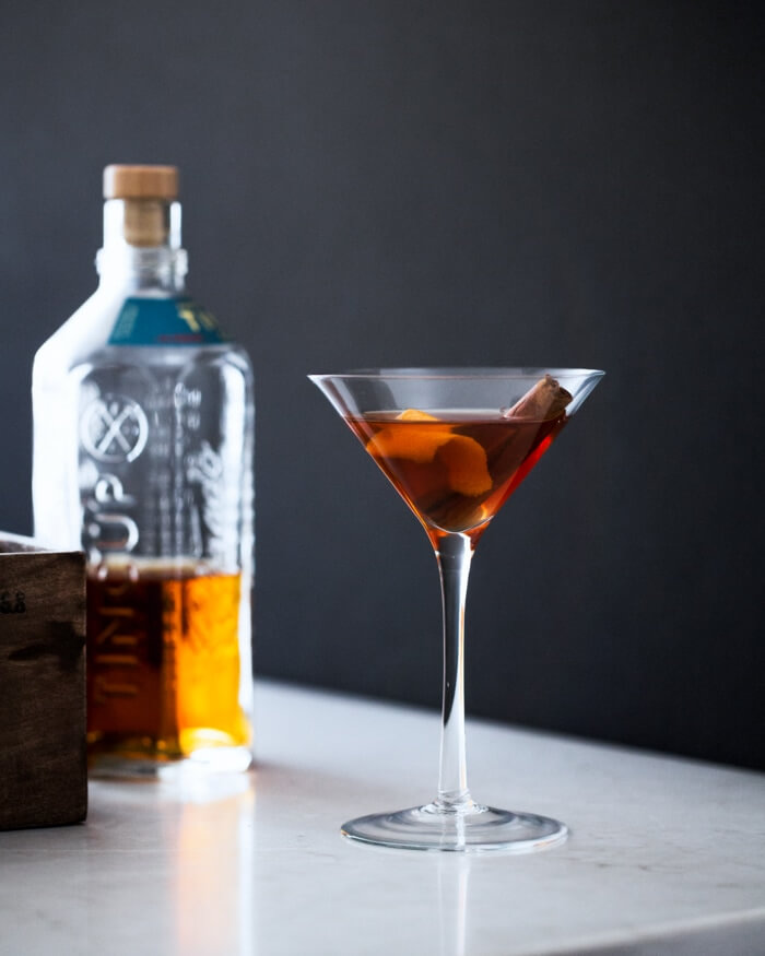 "Honey Bourbon ""Hygge"" Cocktail 