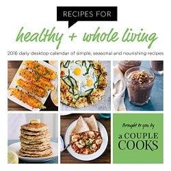 A Couple Cooks Daily Calendar