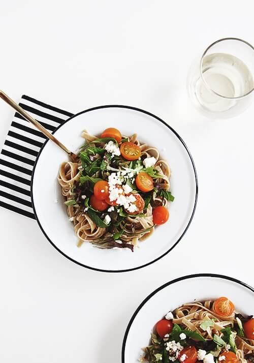Balsamic Pasta | The Faux Martha