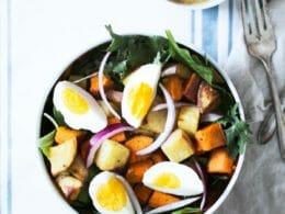 Healthy Potato And Egg Salad Recipe
