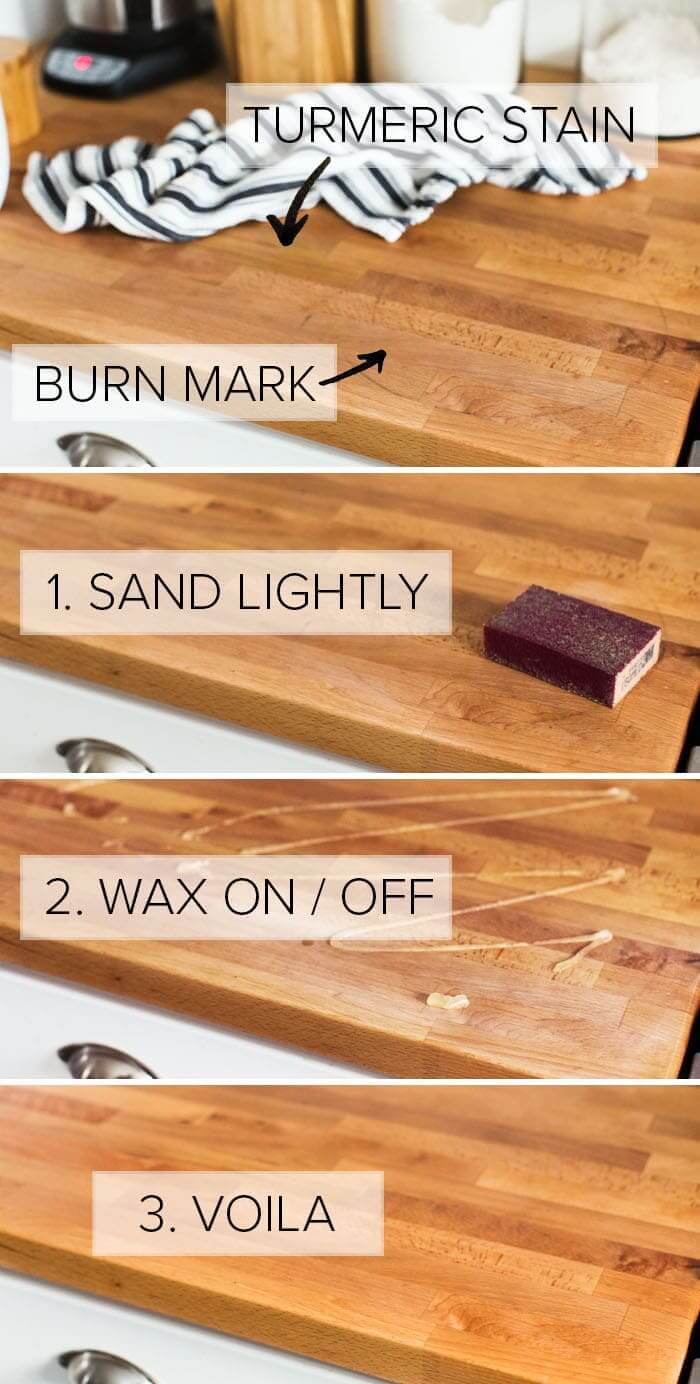 how to take care of buter block countertop