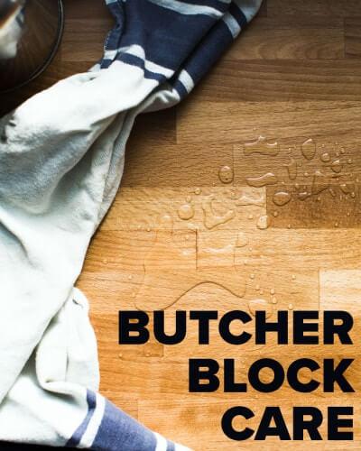 how to care for butcher block countertops blogs de