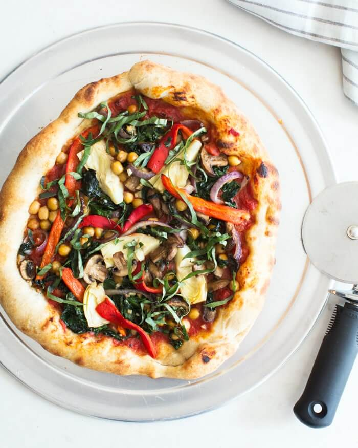 Our Best Vegan Pizza