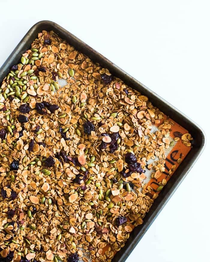Cherry Granola Smoothie Bowl Recipe