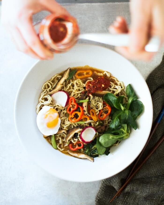 Easy Vegetarian Ramen