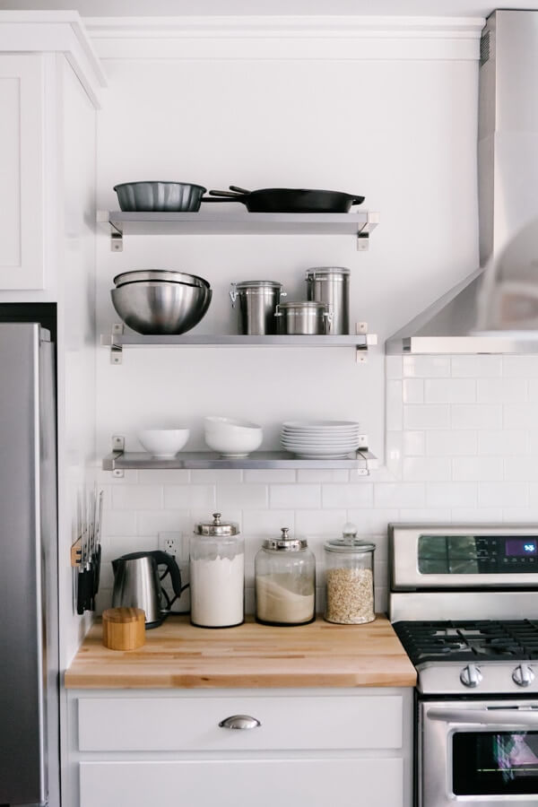 The Making of a Real Life Pinterest Kitchen | A Couple Cooks