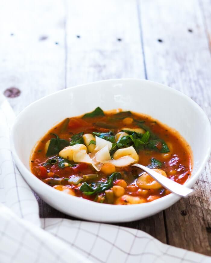 Italian soup | Italian vegetable soup