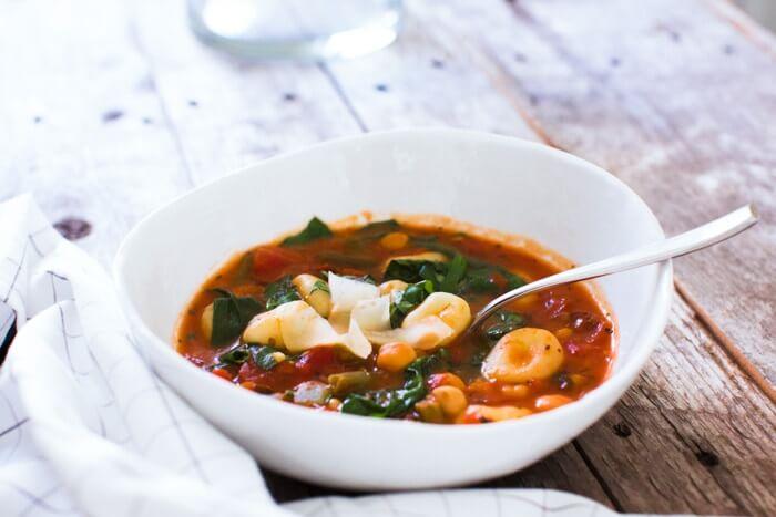 Italian soup | Italian vegetable soup | Gnocchi soup