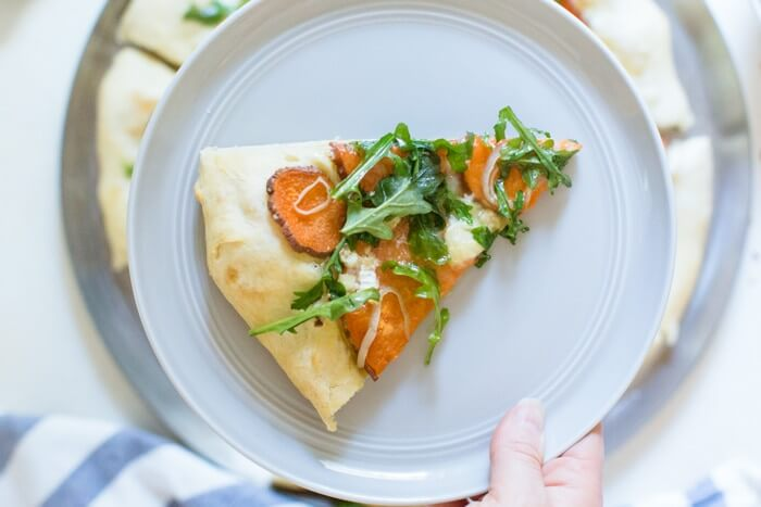 Sweet Potato Brie Pizza