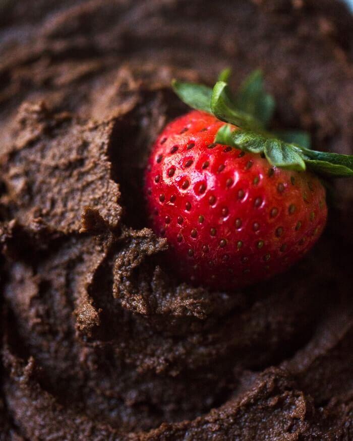Dark Chocolate Hummus | A Couple Cooks