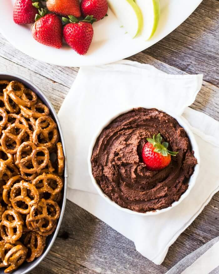 Dark Chocolate Hummus Recipe
