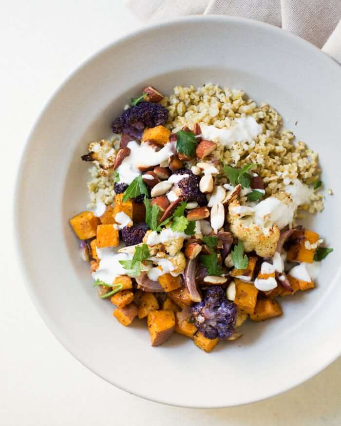 Roasted grain bowl