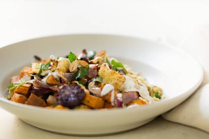 Roasted Fall Vegetables Grain Bowl   A Couple Cooks