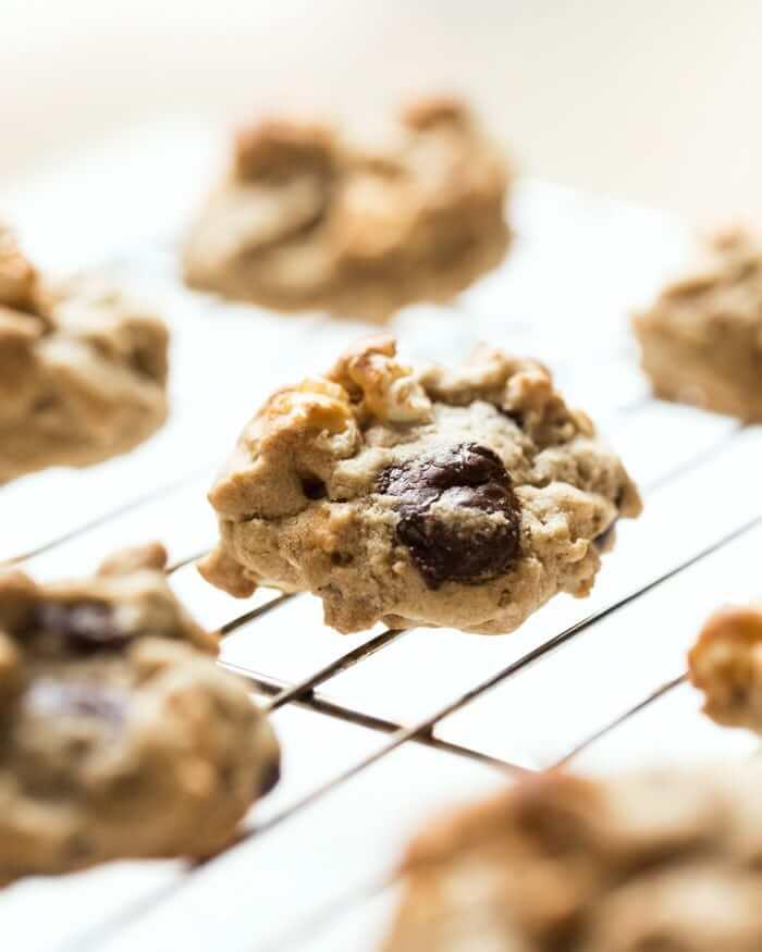 Chocolate Chip Popcorn Cookies