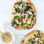 """Get Your Greens"" Naan Pizzas 