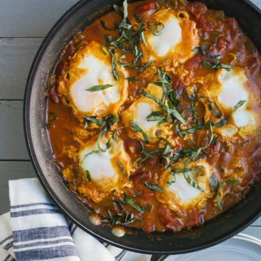 Coconut Curry Shakshuka | A Couple Cooks