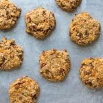 Carrot Cake Breakfast Cookies from Love Real Food | A Couple Cooks