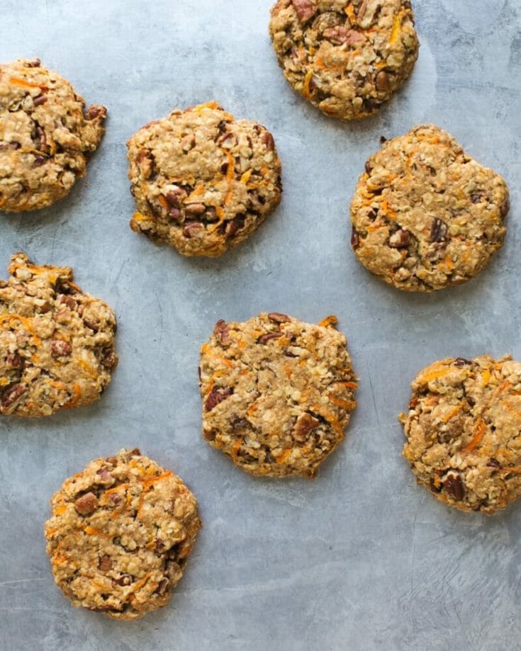Carrot Cake Snack Cookies