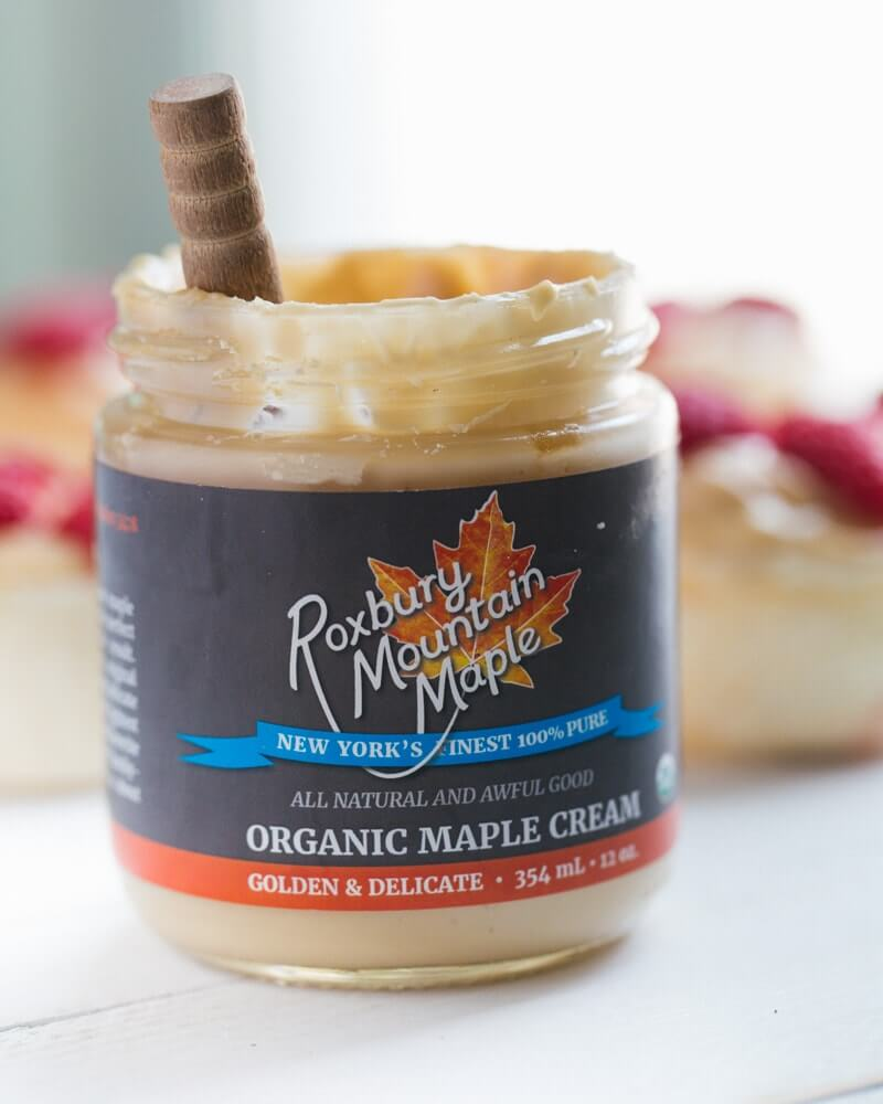 Maple cream from Roxbury Mountain Maple