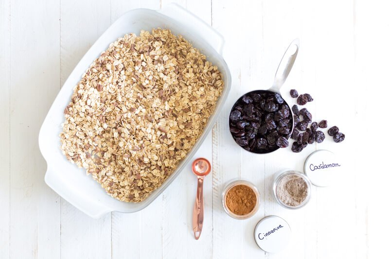 Ingredients for breakfast