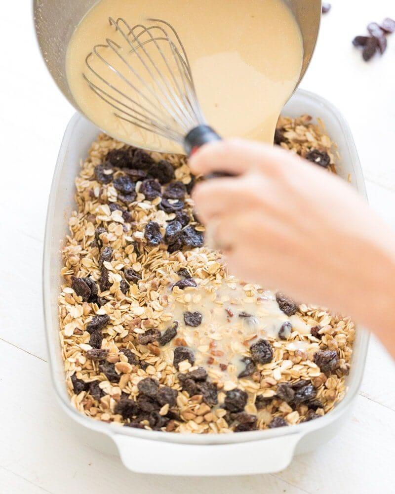 Baked cardamom cherry oatmeal | Mother's Day recipes