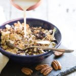 Cinnamon Pecan Homemade Breakfast Cereal   A Couple Cooks
