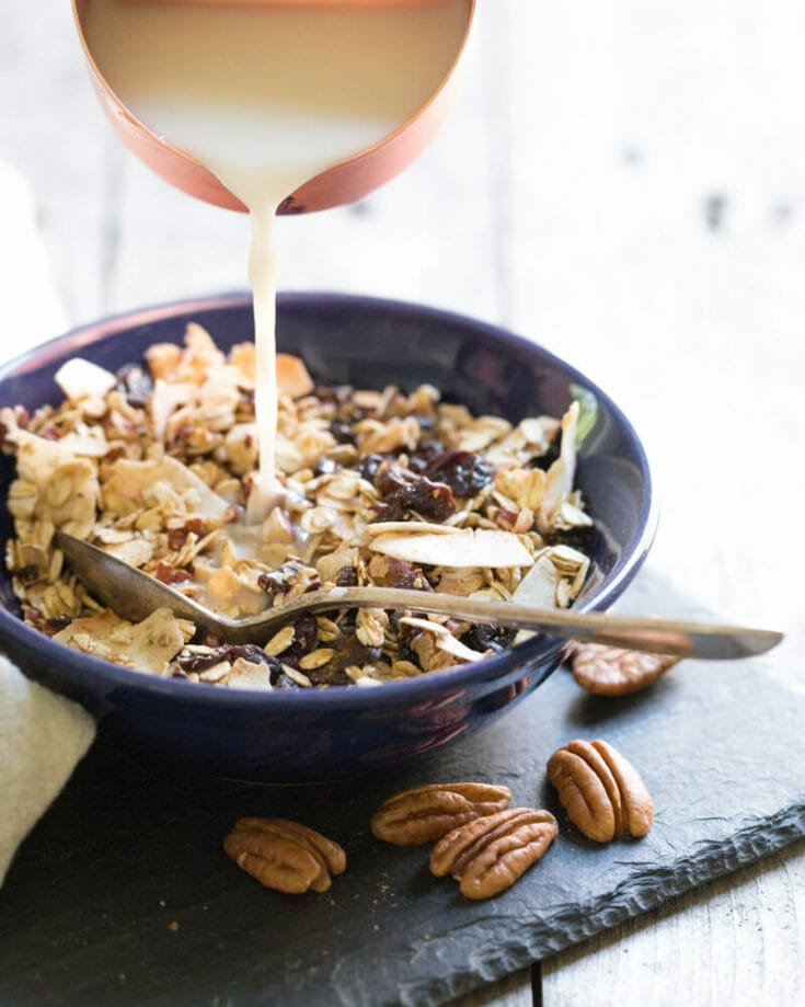 Toasted Homemade Muesli