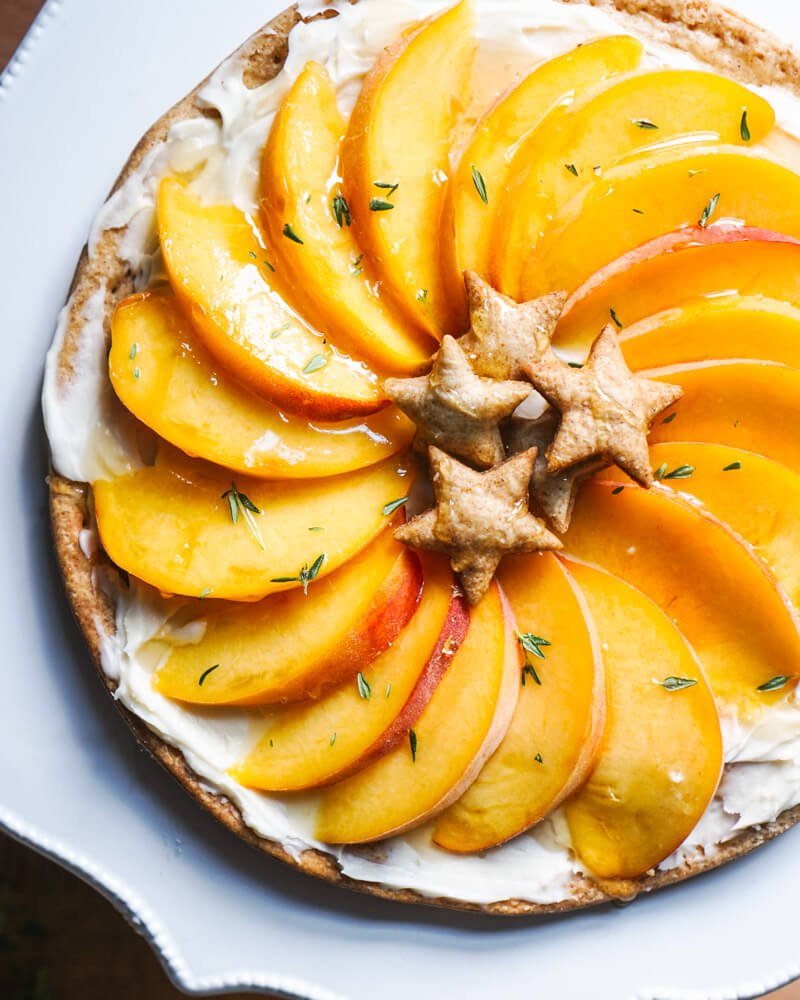 Peach Tart Recipe | Mascarpone Dessert Recipes